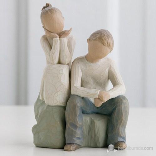 Willow Tree Brother And Sister (Erkek Ve Kız Kardeş) Biblo