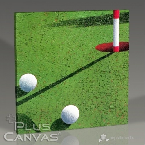Pluscanvas - Golf Tablo