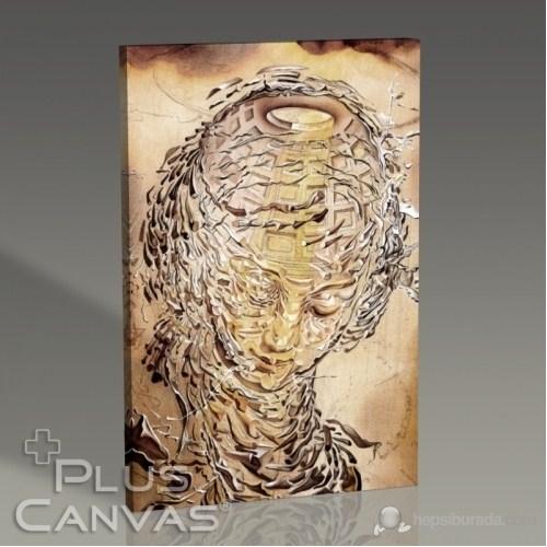 Pluscanvas - Salvador Dali - Raphaelesque Head Exploading Tablo