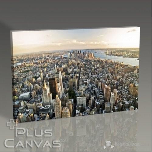 Pluscanvas - New York - Manhattan Panorama Tablo