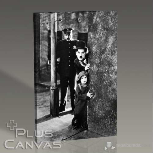 Pluscanvas - Charlie Chaplin - The Kid Tablo