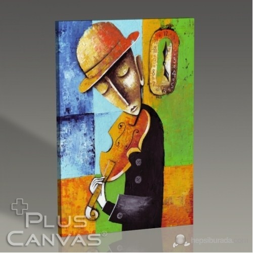 Pluscanvas - Marinne Vias - Instrument Playin Series I Tablo