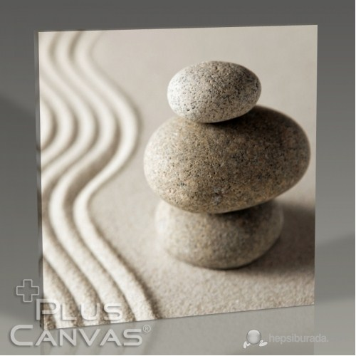 Pluscanvas - Pebble On Sand Iıı Tablo