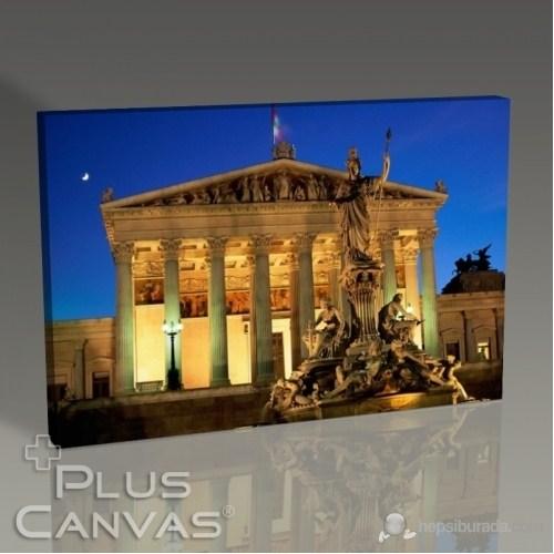 Pluscanvas - Vienna - Parliament Building Tablo