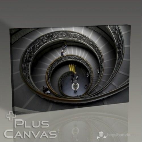 Pluscanvas - Radial Stairs Tablo