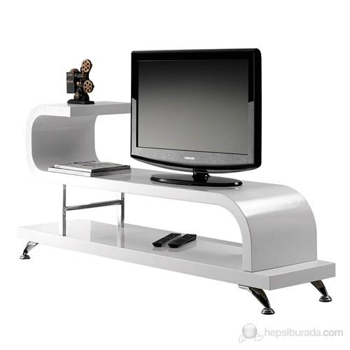 Flamingo Tv Sehpası ( Beyaz )