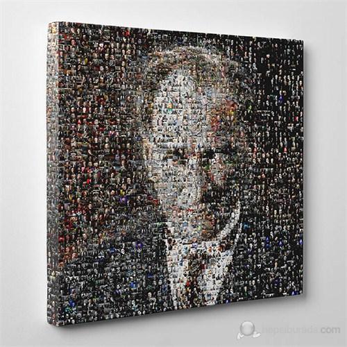 Tabloshop - Atatürk Mozaik Canvas Tablo - 60X60cm