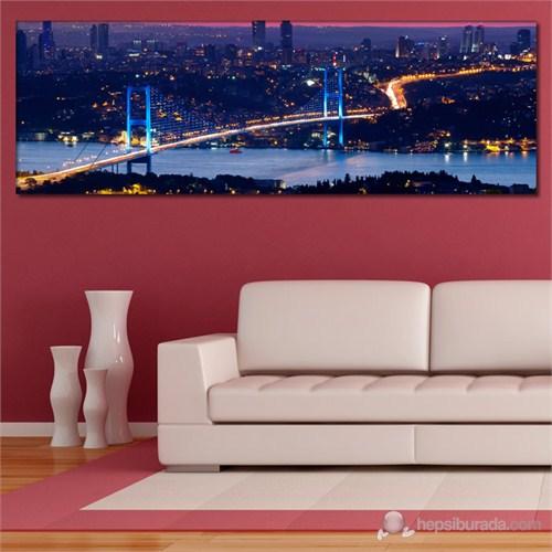 Tabloshop - İstanbul Köprüsü Canvas Tablo - 90X30cm