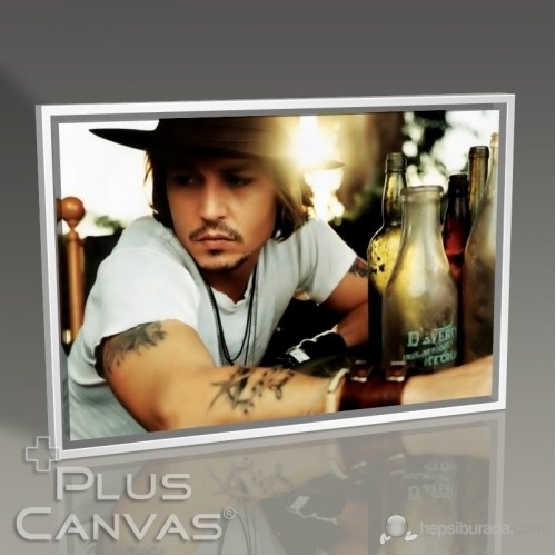 Pluscanvas - Johnny Depp Tablo