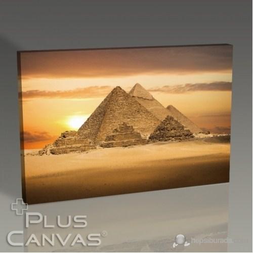 Pluscanvas - Pyramids Tablo
