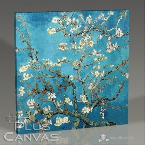Pluscanvas - Vincent Van Gogh - Blossoming Almond Tree Tablo