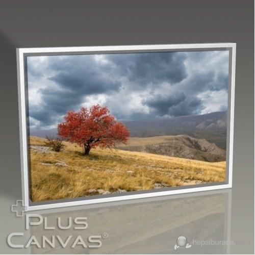 Pluscanvas - Red Tree Tablo