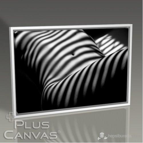 Pluscanvas - Shadow On Beautiful Woman Tablo