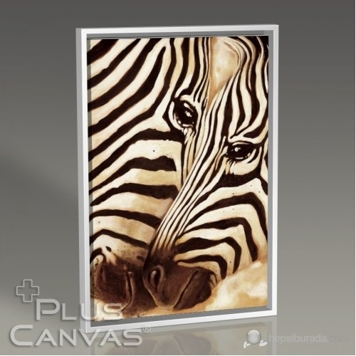 Pluscanvas - Zebras In Love Tablo