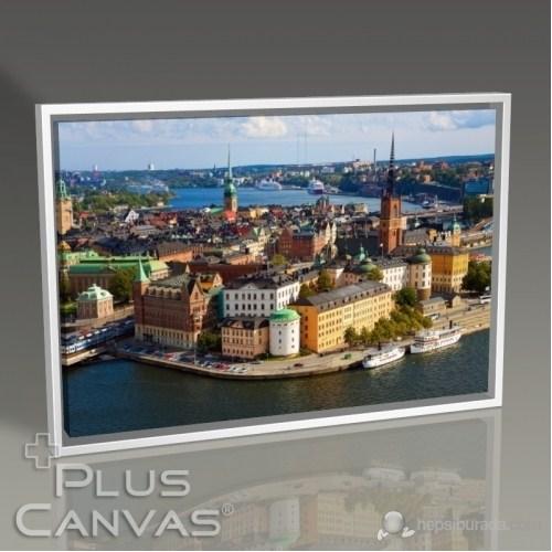 Pluscanvas - Stockholm - Cityscape Tablo