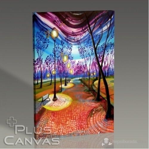 Pluscanvas - Timothy Sorsdahl - From Dusk Like Candlesticks Light My Path Till Dawn Tablo