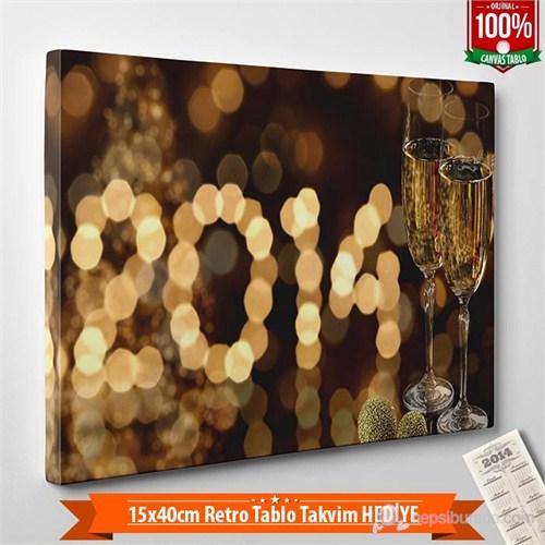 Tabloshop - Yılbaşı Özel Tablo - Yb-25 - 60X40cm - Takvim Hediye