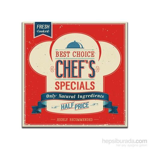 Dolce Home Retro Chef's Tablo 19