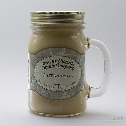 Buttercream Büyük Kavanoz Mum