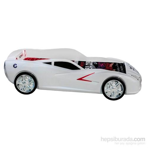 Cor Bed Maxi Beyaz Arabalı Yatak