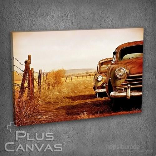 Pluscanvas - Old Car I Tablo