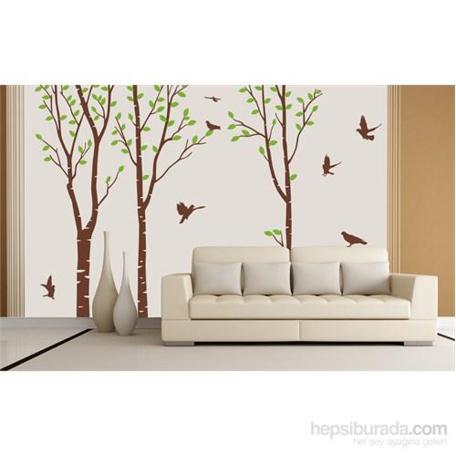 Bestasticker Kahverengi Ağaç Orman Sticker