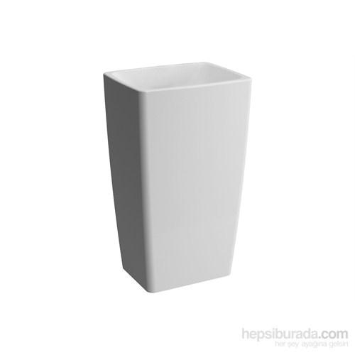 Vitra Metropole Monoblok Lavabo 50 Cm-Beyaz
