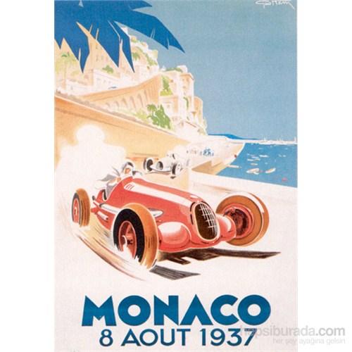 Metal Poster - Monaco 1937 Géo Ham 30X40cm