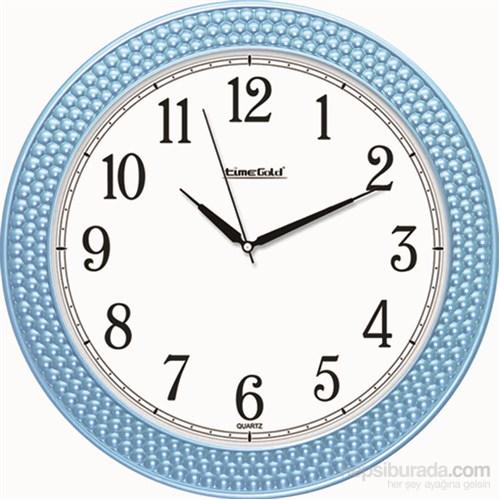 Mavi Boncuk Okunaklı Duvar Saati