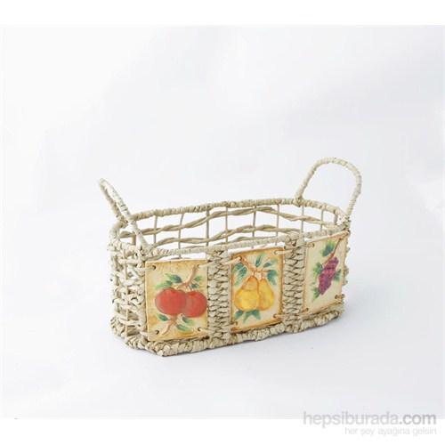 Natürel Oval Sepet, Meyve