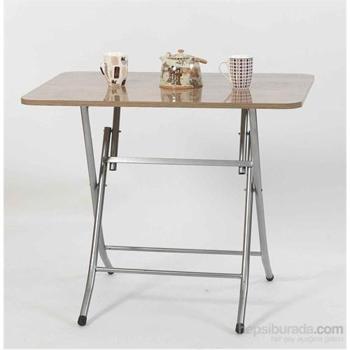 Ellnaz Yana Yatan Mutfak ve Balkon Masası Samba 45x60