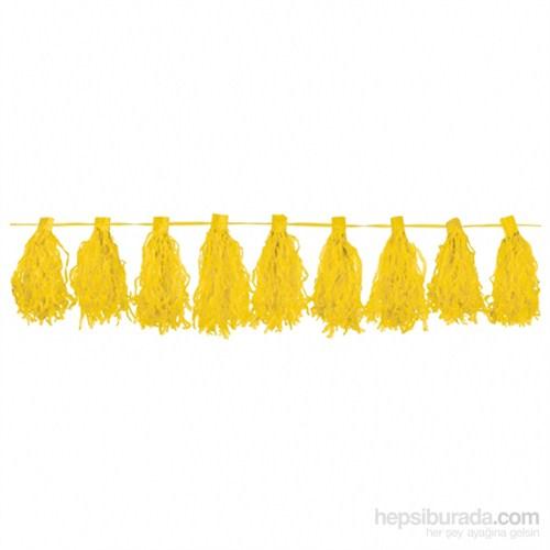 KullanAtMarket Sarı Püskül 1 Adet