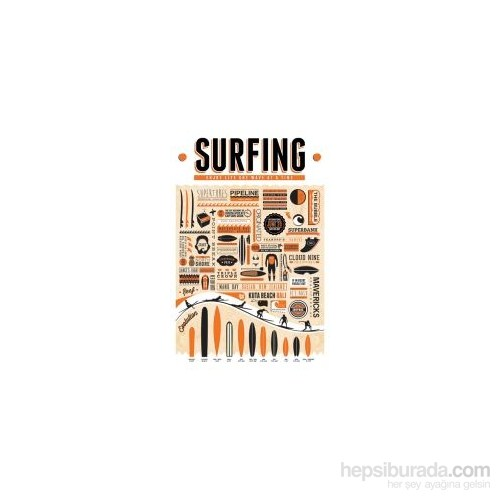 Maxi Poster Surfing Enjoy Life One Wave At A Time