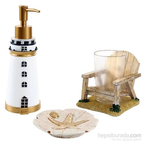 Bosphorus Deniz Feneri Banyo Set