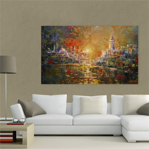 Atlantis Tablo İstanbul Manzarası 75X45 Cm