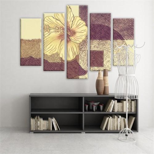 Dekoratif 5 Parçalı Kanvas Tablo-5K-Hb061015-72