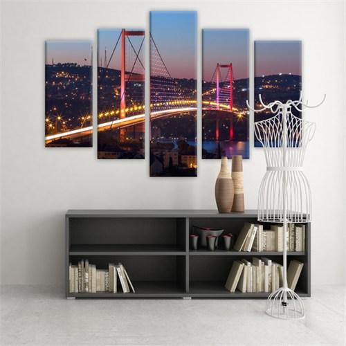 Dekoratif 5 Parçalı Kanvas Tablo-5K-Hb061015-130