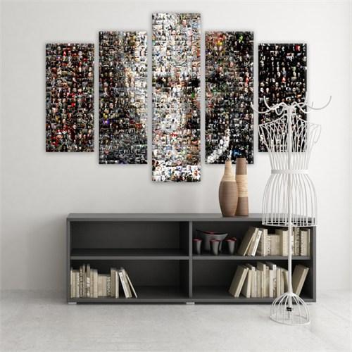 Dekoratif 5 Parçalı Kanvas Tablo-5K-Hb061015-142