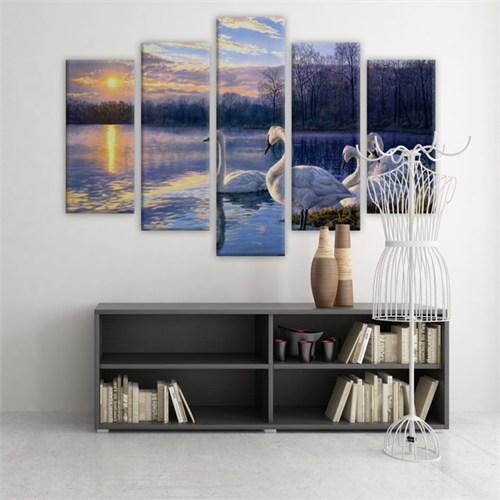 Dekoratif 5 Parçalı Kanvas Tablo-5K-Hb061015-217