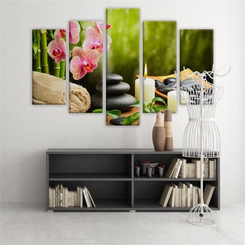 Dekoratif 5 Parçalı Kanvas Tablo-5K-Hb061015-251