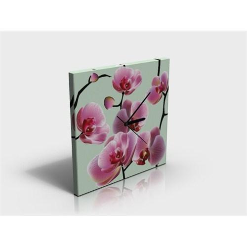 Arte80 - Floral 148 - Kanvas Tablo Saat