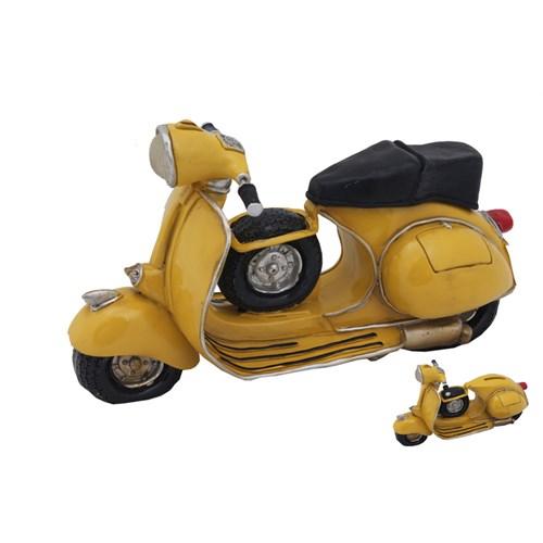 Sarı Motorsiklet Figürlü Kumbara