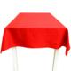 Cushion Design Kırmızı Masa Örtüsü