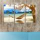 Decostil Hamak 3 Parça 81x50 Kanvas Tablo