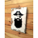 Oldwooddesign Bearded Pirate Tablo