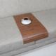 Esser Roma Ceviz - Koltuk Sehpası 30x60 cm