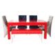 3A Mobilya Moderno Red Table + 4 Sandalye