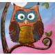 Fotocron Dekoratif Tablo Şaşkın Baykuş