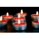 Happy Candle 50 adet Kırmızı Çilekli Tea Light Mum mm20-50
