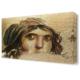 Dekor Sevgisi Zeugma Mozaik Çingene Tablosu 45x30 cm